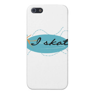 Girl on Ice I Skate T-shirts and Gifts Cases For iPhone 5