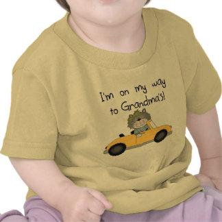 Girl - On My Way to Grandmas Tshirts and Gifts