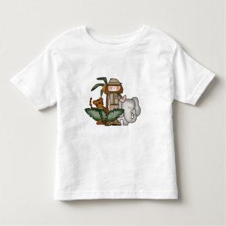 Girl on Safari Tshirts and Gifts