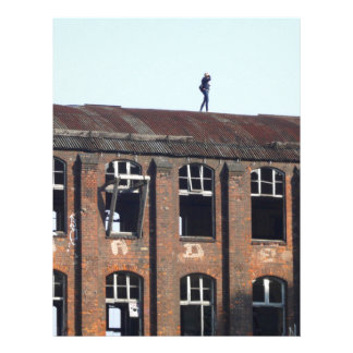 Girl on the Roof 02.2, lost places Letterhead