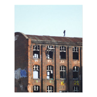 Girl on the Roof - Lost Places Letterhead