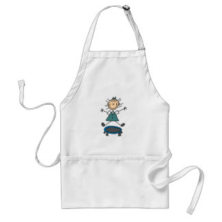 Girl on Trampoline Apron