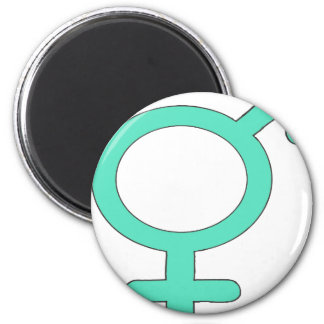 GIRL OR BOY BLEU.PNG 2 INCH ROUND MAGNET