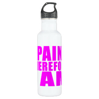 Girl Painters : I Paint Therefore I Am Stainless Steel Water Bottle