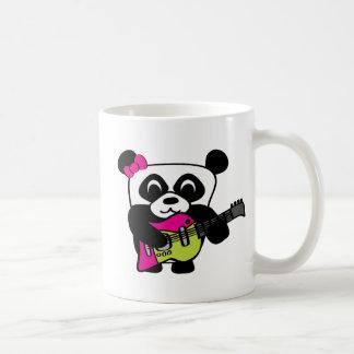 Girl Panda Guitar Fun Mugs