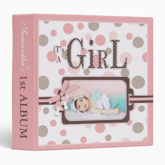 Girl PB 15 Album 3 Ring Binder