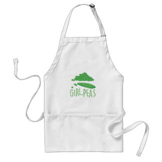 Girl Peas Adult Apron
