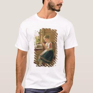 Girl Peeling Berries, 1880 T-Shirt