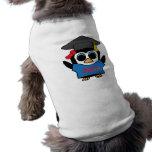 Girl Penguin Blue & Red 2012 Grad Pet Tshirt