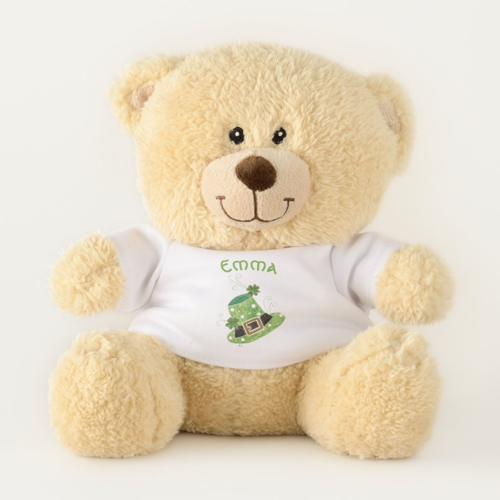 St-Patrick's Day Teddy bear girl