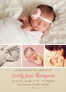 birth announcements zazzle