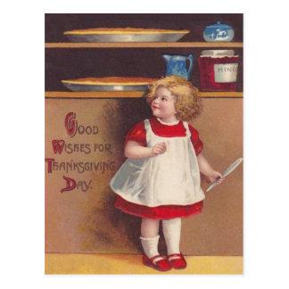 Girl & Pies Postcards
