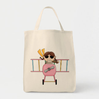 Girl Pilot T-shirts and Gifts Tote Bags