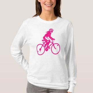 Girl Pink Cycle Long Sleeve T-Shirt