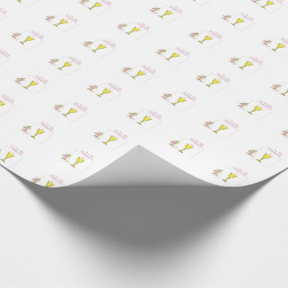 Girl Pink First Holy Communion, Chalice, Host, Ros Wrapping Paper