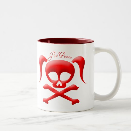 Girl Pirates Mug