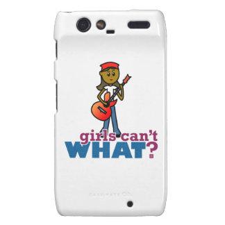 Girl Playing Guitar Motorola Droid RAZR Cases
