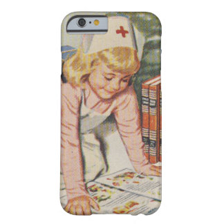 Girl playing Nurse - Retro Barely There iPhone 6 Case