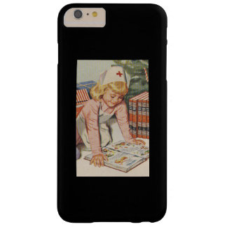 Girl playing Nurse - Retro Barely There iPhone 6 Plus Case