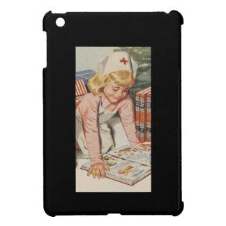 Girl playing Nurse - Retro Cover For The iPad Mini