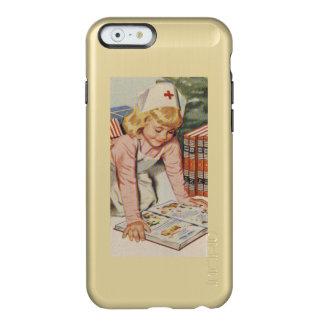 Girl playing Nurse - Retro Incipio Feather® Shine iPhone 6 Case