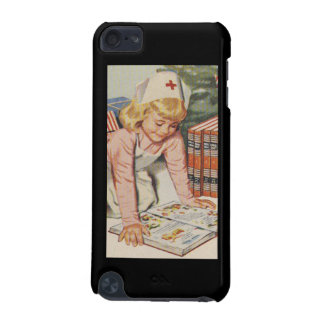 Girl playing Nurse - Retro iPod Touch 5G Cover