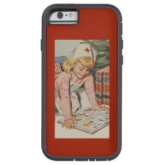Girl playing Nurse - Retro Tough Xtreme iPhone 6 Case