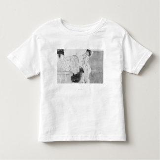 Girl Playing with Bear Cub in Seward 2 Shirt
