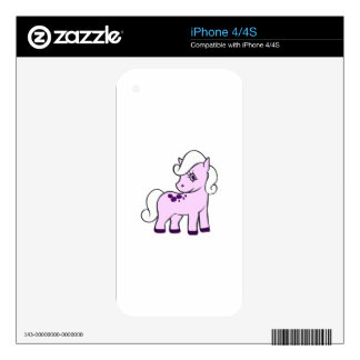 GIRL PONY DECAL FOR THE iPhone 4S