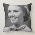 Girl Posing in Studio Pillows