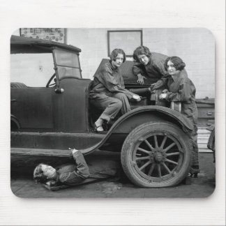 Girl Power: 1927 Mouse Pad