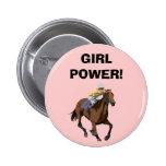 GIRL POWER! 2 INCH ROUND BUTTON