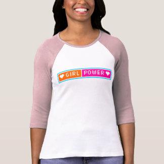 Girl Power Blog Button Tee