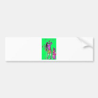 girl power bumper stickers