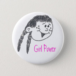 Girl Power Buttons