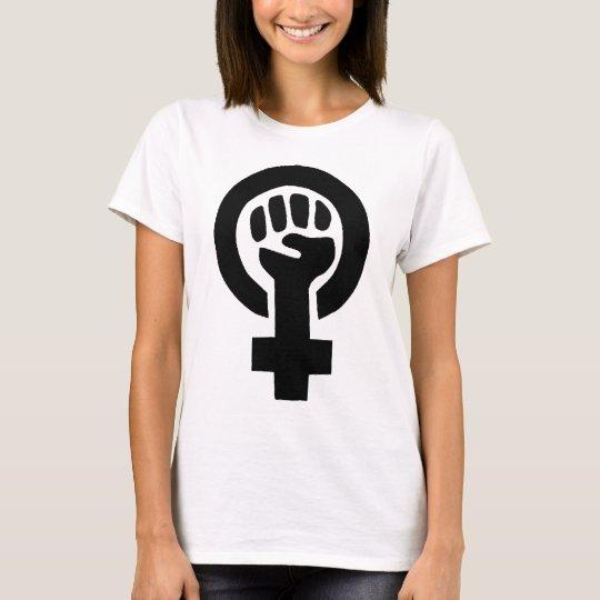 Girl Power Feminist Symbol T-Shirt