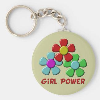 Girl Power! Keychains