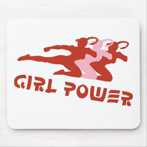 Girl Power Mouse Pads