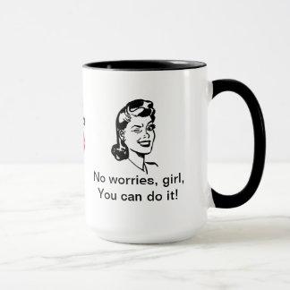 """""""Girl Power"""" mug"""