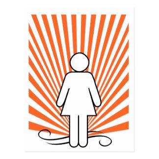 Girl Power Postcard