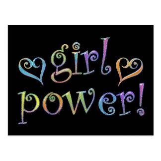 girl power postcards