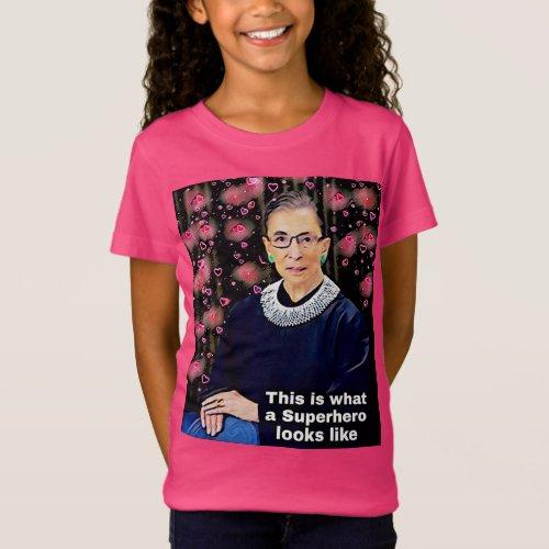 Girl power RBG tshirt