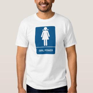 Girl Power Restroom Door T-shirt
