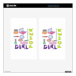 Girl Power Skin For Kindle Fire
