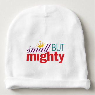 Girl Power - Small But Mighty Baby Beanie
