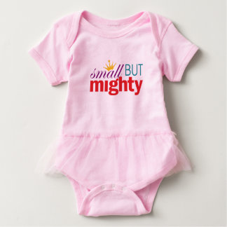 Girl Power - Small But Mighty Baby Bodysuit