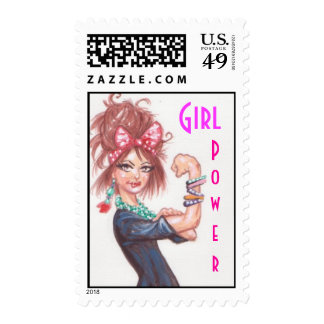 Girl Power Stamps
