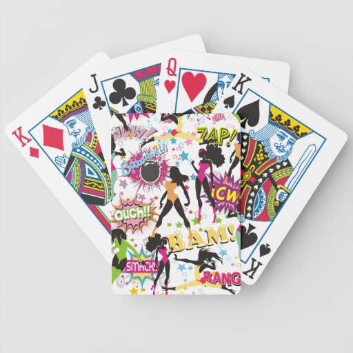 Winter Fitness Challenge -- playing cards