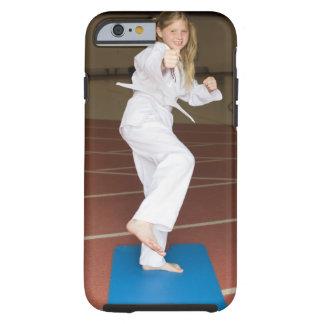 Girl practicing karate tough iPhone 6 case
