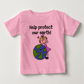 Girl Protect Our Earth Tshirts and Gifts